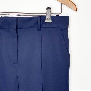 TORY BURCH Sport Navy Tech Twill Golf Pants 4 NWT